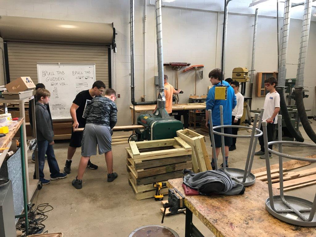MS Impact Group-Woodworking