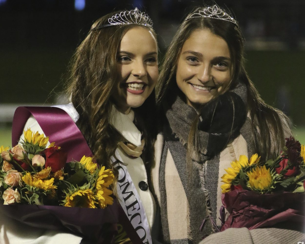 2018 Homecoming Princess and Queen