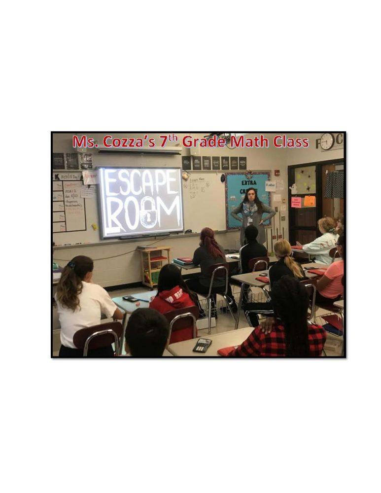 Ms. Cozza's 7th Grade Math Class